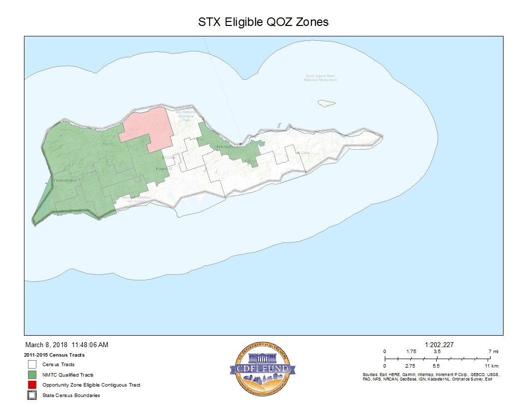Picture of: Opportunity Zone United States Virgin Islands Economic Development Authority
